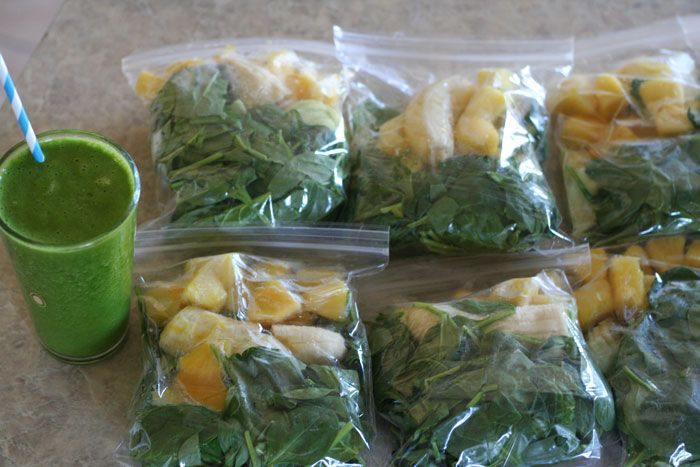 Make Ahead GREEN SMOOTHIES (or ANY Smoothie)