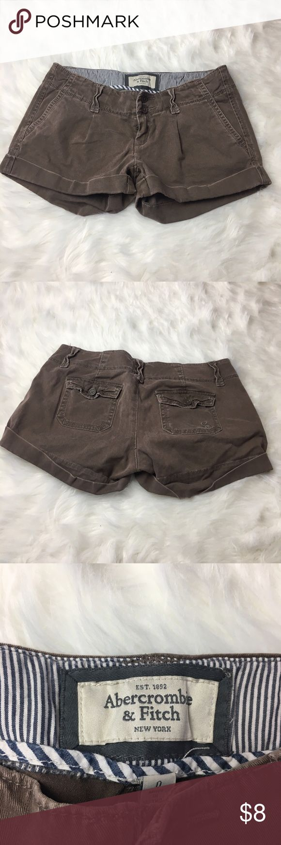 Abercrombie and Fitch shorts Abercrombie and Fitch stretch shorts  size 0. Bin B Abercrombie & Fitch Shorts