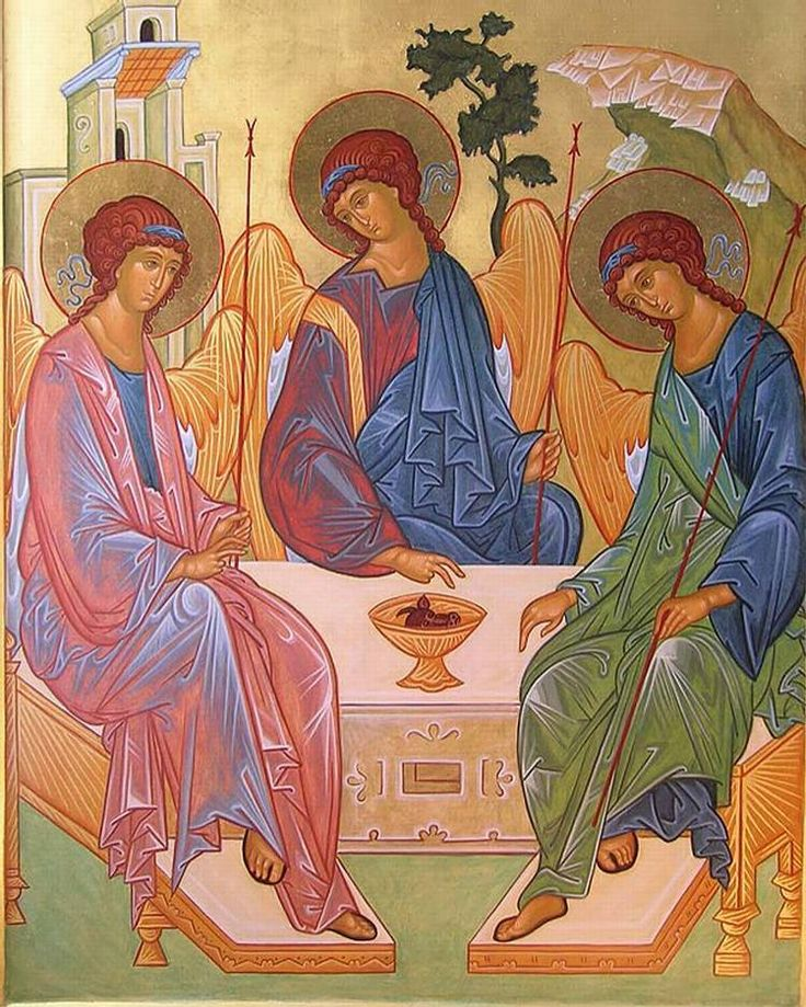 #santissimatrinità#trinita#trinity#trininad#padre#figlio#spiritosanto#dio#gesu#rublev#icona#agnellodidio#diopadre#giubileo#diopadremisericordioso#holyspirit by diocesi_romaest