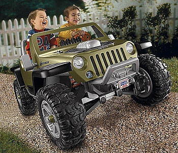I like this on for the boys.. makes no sense to get a cadillac escalade when we drive a Jeep..lol