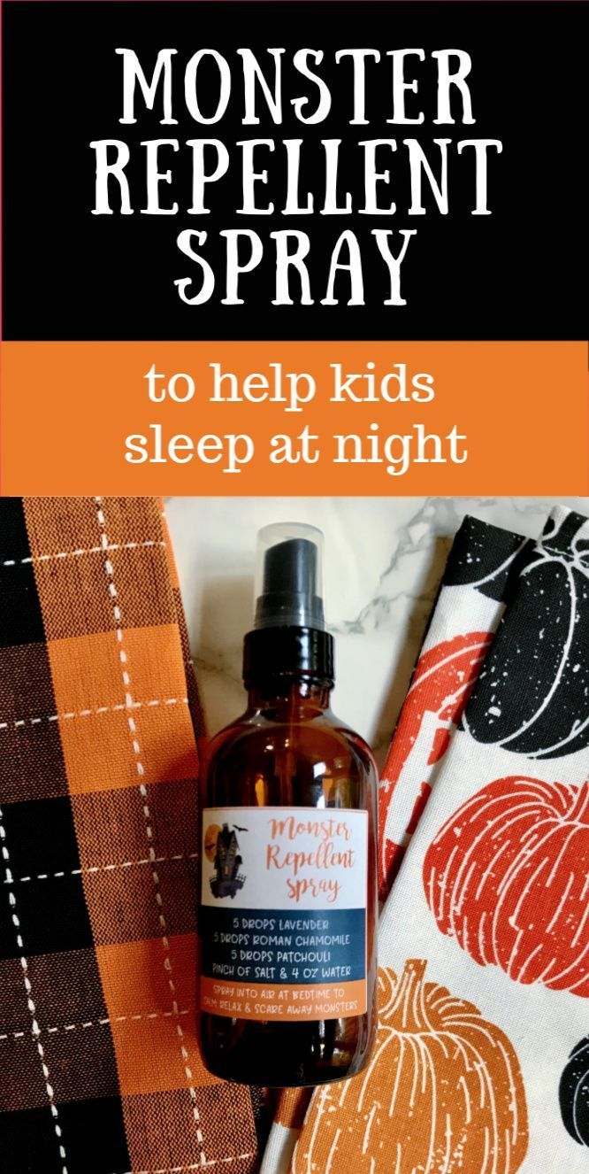 Monster Repellent Spray Recipe With Essential Oils