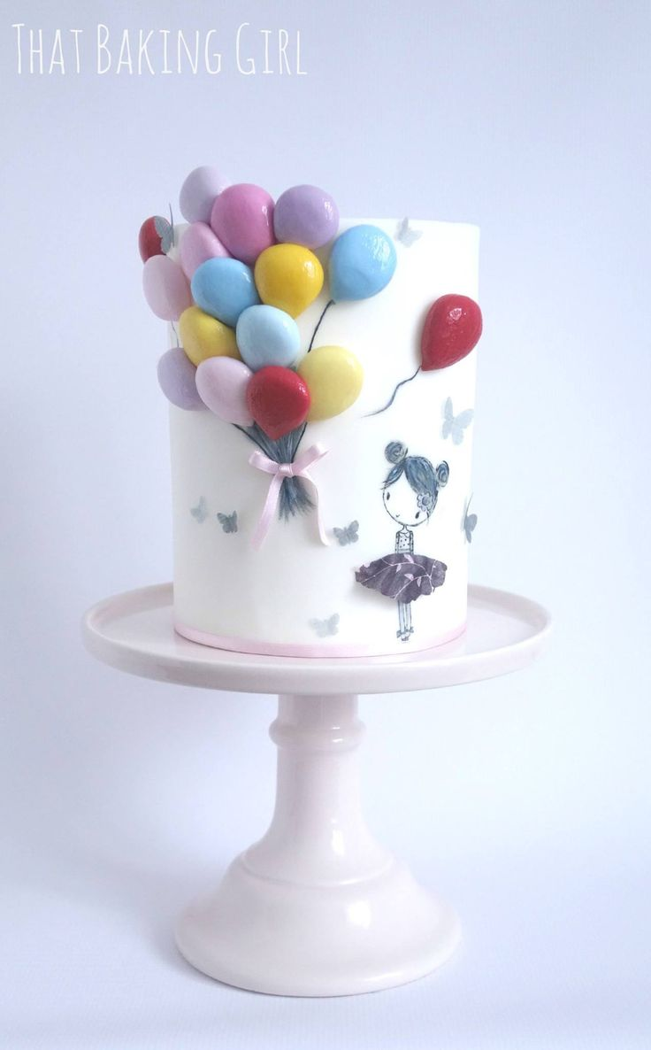 birthday cake and balloons 25 best ideas about balloon birthday cakes on 1729