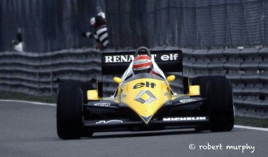 Eddie Cheever RENAULT F1 1983 @ Montreal   F1 Cars : COOL ...