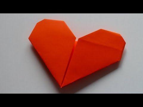 Basteln Mit Papier Herz Für Hochzeit Valentinstag