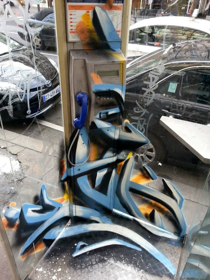 Djalouz Anartchik - street artist