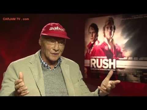 Niki Lauda Talks RUSH Movie 2013 Niki Lauda Interview on James Hunt + F1 2013 Carjam TV HD - YouTube