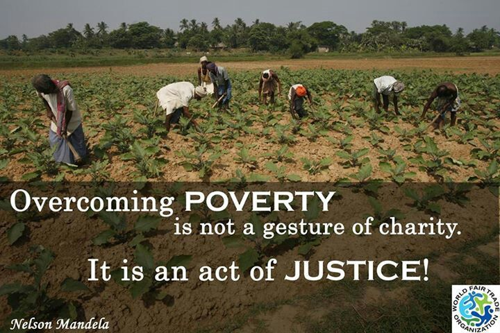The trade status quo creates poverty; fair trade re-balances it to an equitable relationship.  The way it should be!