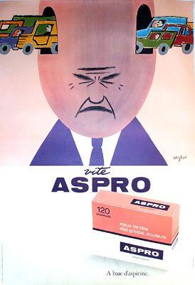 Aspro (1963) by Raymond Savignac