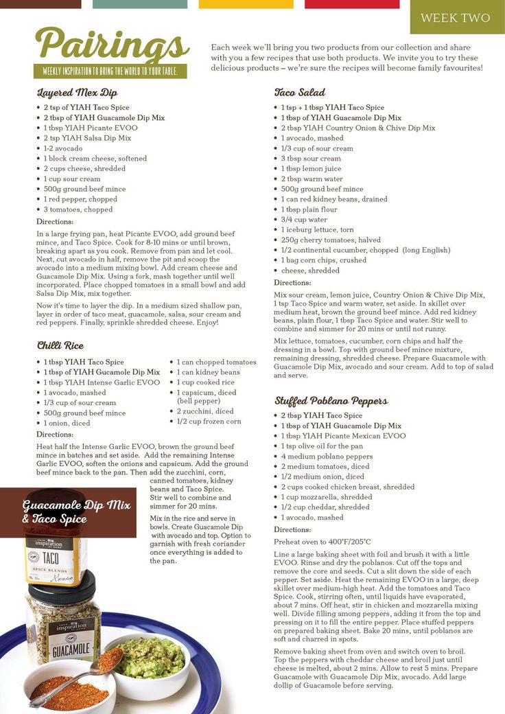 Http://alyssaryan.yourinspirationathome.com.au www.facebook.com/Alyssa.ryan.yiah  Yiah guacamole dip mix and taco spice blend recipe ideas