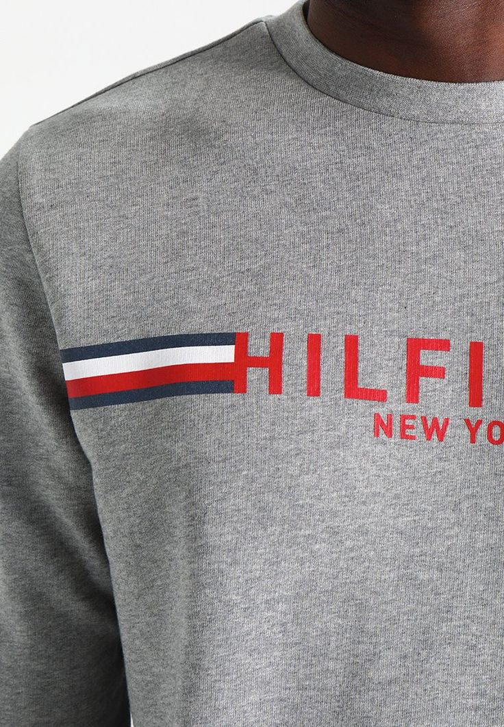 Tommy Hilfiger Sweatshirt - grey for £84.99 (26/02/18) with free delivery at Zalando