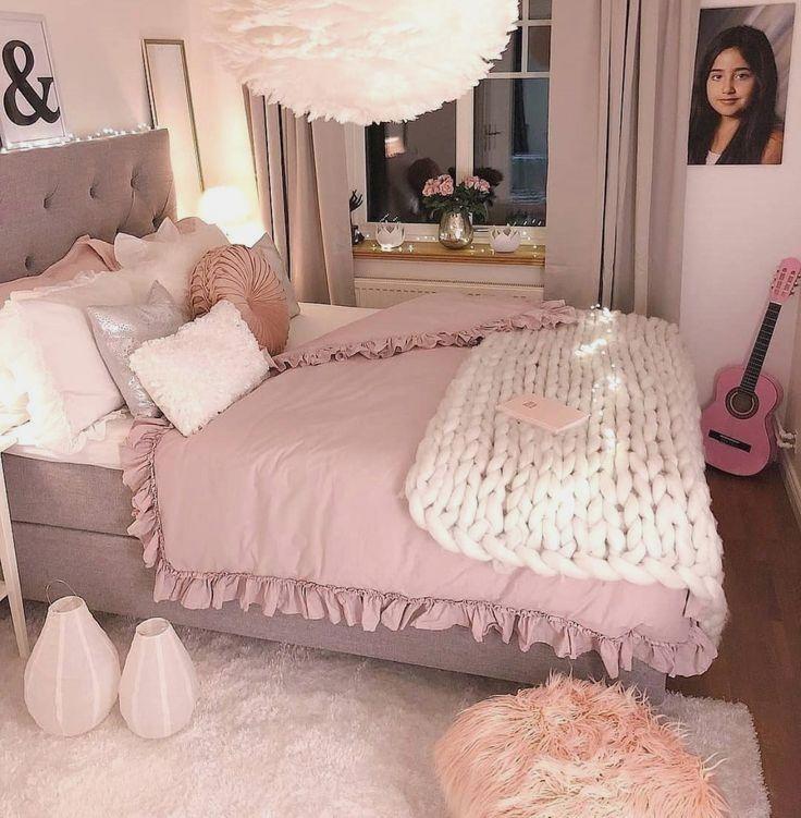 Bedroom Ideas ديكور وتصاميم غرف نوم بنات Bedroomideas Apartmentdecor Bedroomdesig Cozy Room Room Inspiration Bedroom Home Decor Bedroom