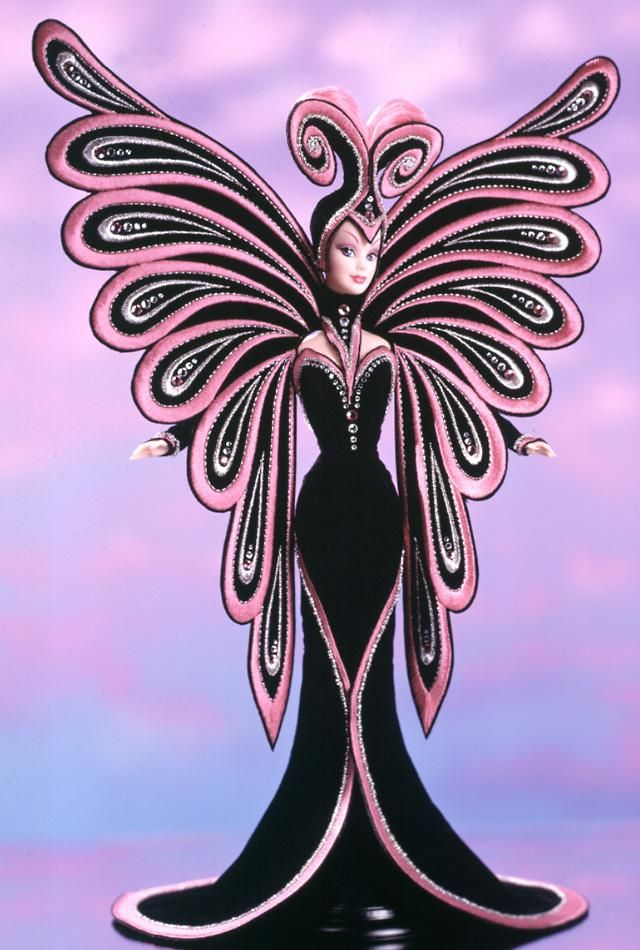 Bob Mackie Le Papillon™ Barbie® Doll  No Longer Available From Mattel  Limited Edition  Release Date: 1/1/1999  Product Code: 23276