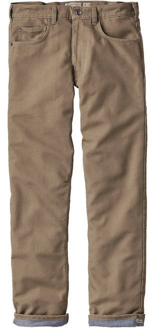 """Patagonia Men's Flannel Lined Straight Fit All-Wear Jeans - 32"""""""