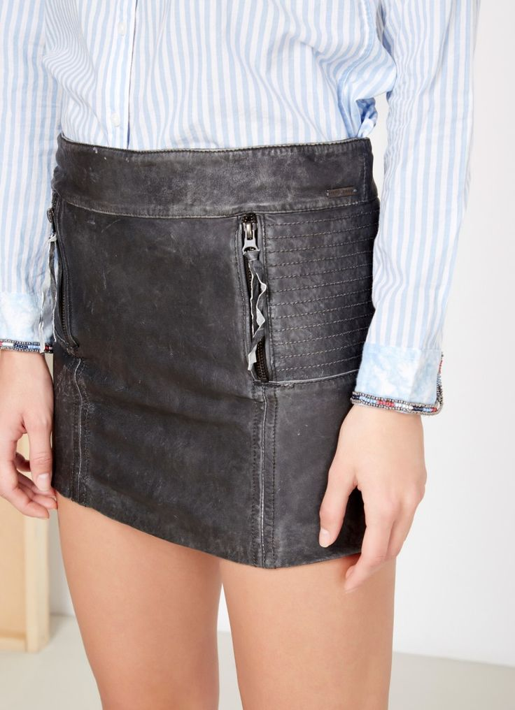 Skórzana spódnica MATY   Pepe Jeans London