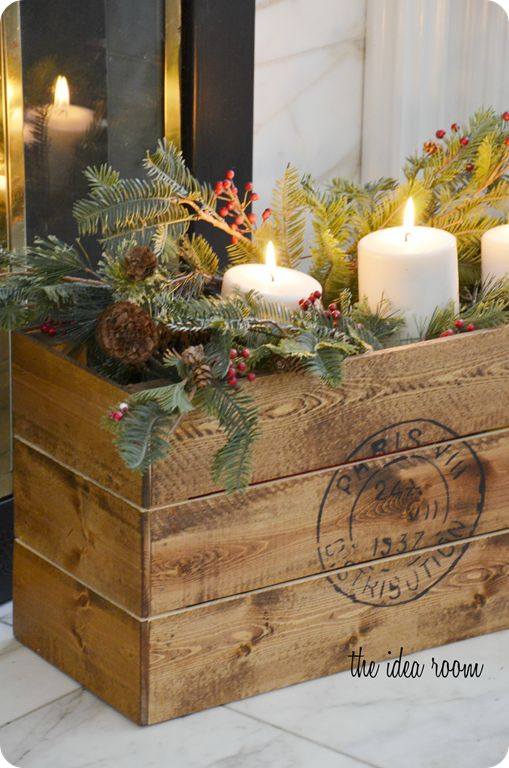 pictures of evergreen containers for christmas | So with this month's # LowesCreator challenge , I decided that this ...