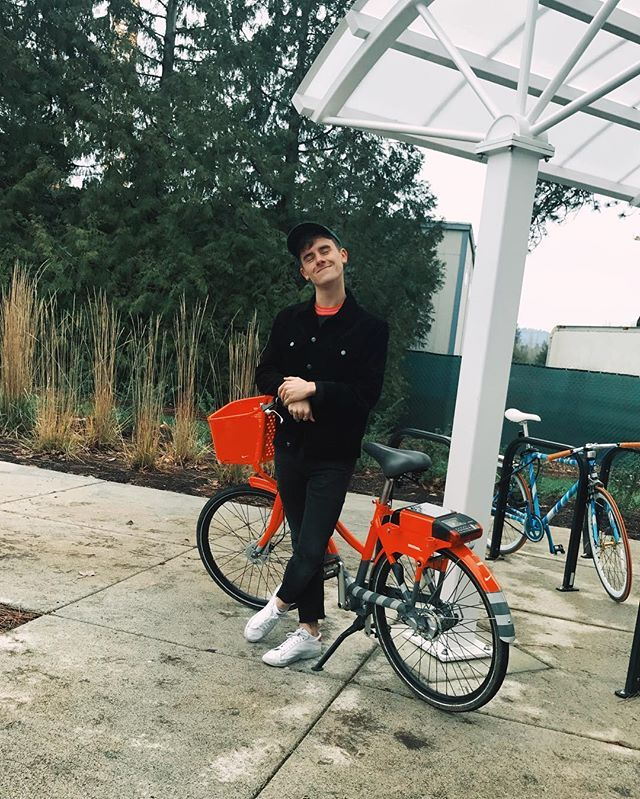 my outfit was missing.. this bike