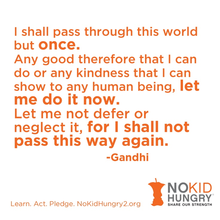 www.nokidhungry2.org is an interactive website for Youth ages 5-25. Learn, Pledge, Act and visit www.nokidhungry2.org