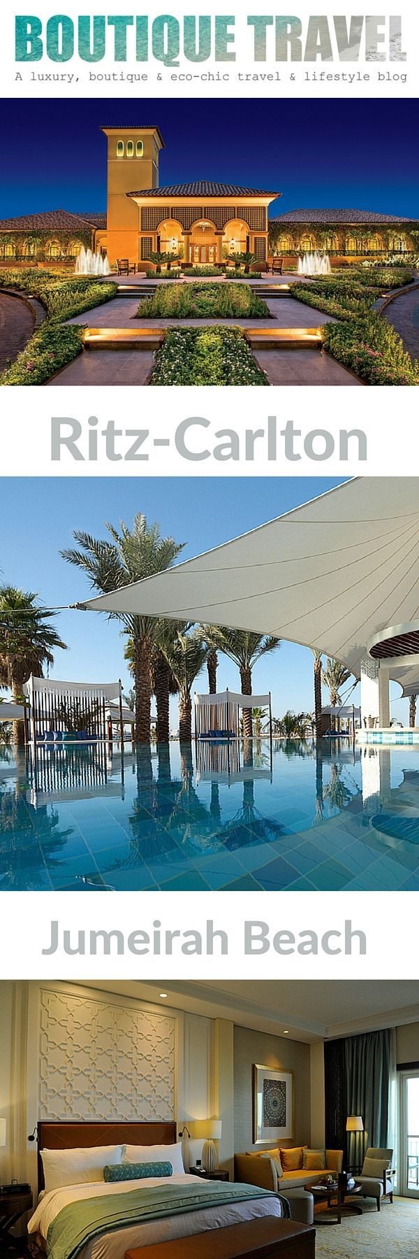 The Perfect combination of a beachside and city break, The Ritz-Carlton, Jumeriah Beach,Dubai. With a choice of 5 swimming pools, including one for adults only, numerous enticing dinning options, lush gardens, a private sandy beach, a luxurious spa and superb service, the elegant Ritz-Carlton, on the Arabian Gulf is one of the best hotels in Dubai and the perfect place to relax whether visiting this exciting city for business or pleasure.