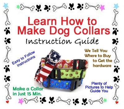 Learn how to make your own dog collars