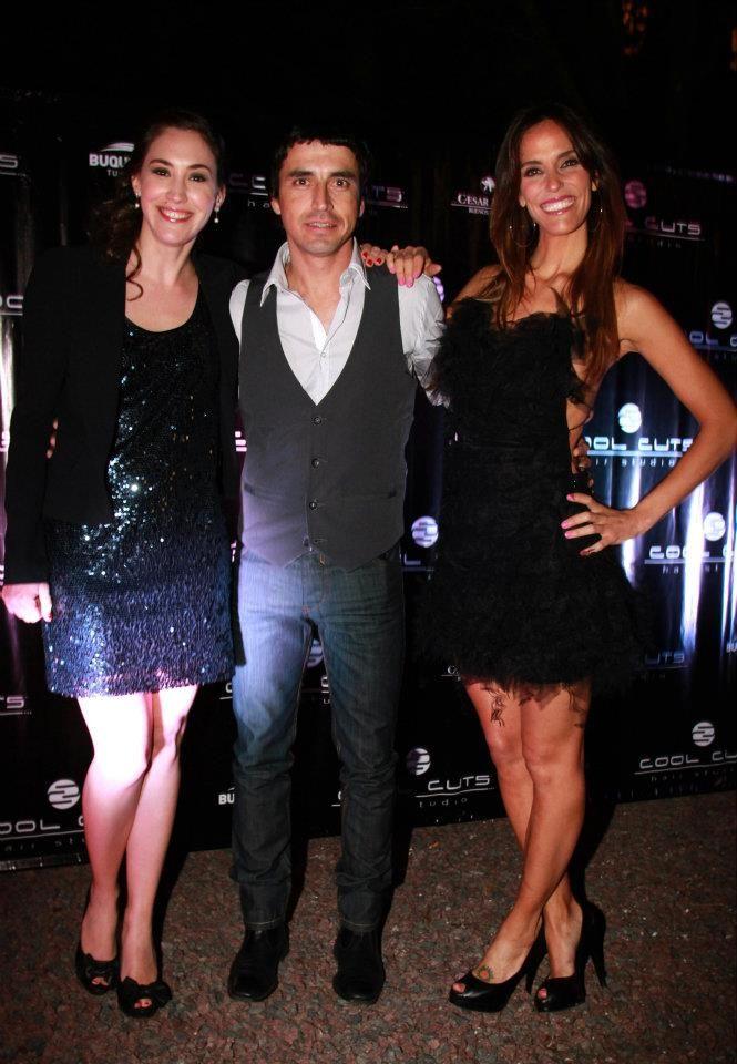 Alvaro junto a Malena Solda & Maria Susini