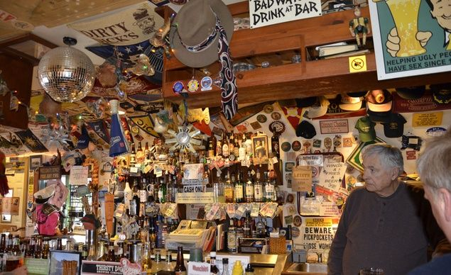 Close Quarters Pub, in Avon Lake, Ohio, is set on a quiet residential street, just a block away from Lake Erie. (Courtesy Visit Lorain County/Flickr) From: 10 Smallest Bars in the World.