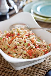 with Creamy French Dressing | Salads - Coleslaw | Pinterest | French ...