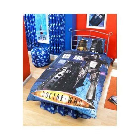 zap doctor who cyberman single duvet set amazoncouk kitchen - Dr Who Bedroom Ideas