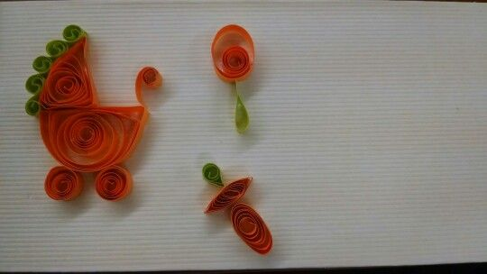 Quilling baby stuff