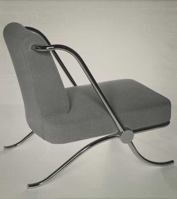 Cool Tubular Chair by J.J.P. Oud