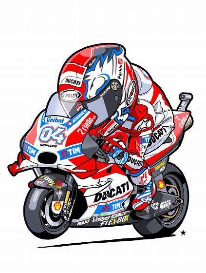 Andrea Dovizioso #04 #MotoGP