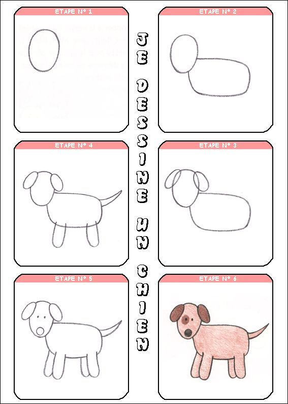 17 best images about apprendre dessiner on pinterest drawing tutorials shapes for kids and - Comment dessiner un ane facilement ...