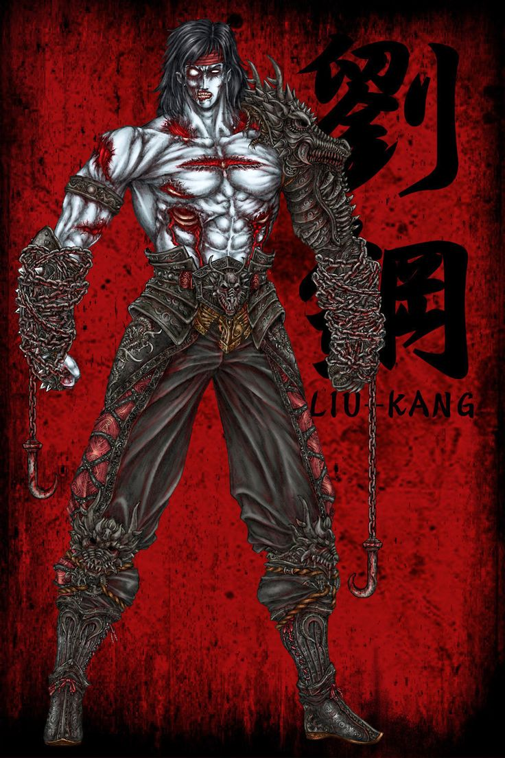 LIU KANG (ZOMBIE) by MIDWOOD.deviantart.com on @DeviantArt