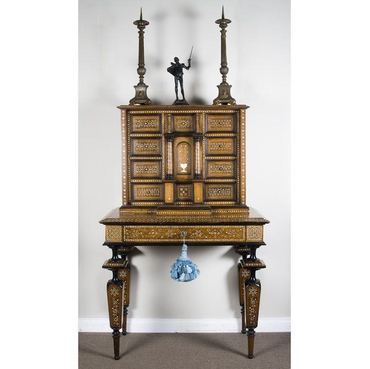 Italian Inlayed Cabinet