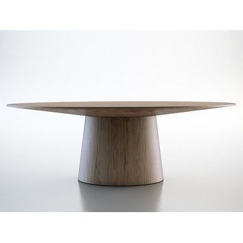 Features:  -Innovative yet simplistic.  -Seats up to 8 guests.  -MDF core and veneer construction.  Base Material: -Wood.  Style (Old): -Modern/Traditional. Dimensions:  Overall Height - Top to Bottom