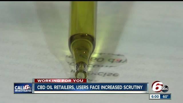 Ind. Gov. Eric Holcomb directs Indiana excise police to check retailers' CBD oil supply for THC http://cstu.io/546a81 #CBDOrigin #CBD #CBDCures
