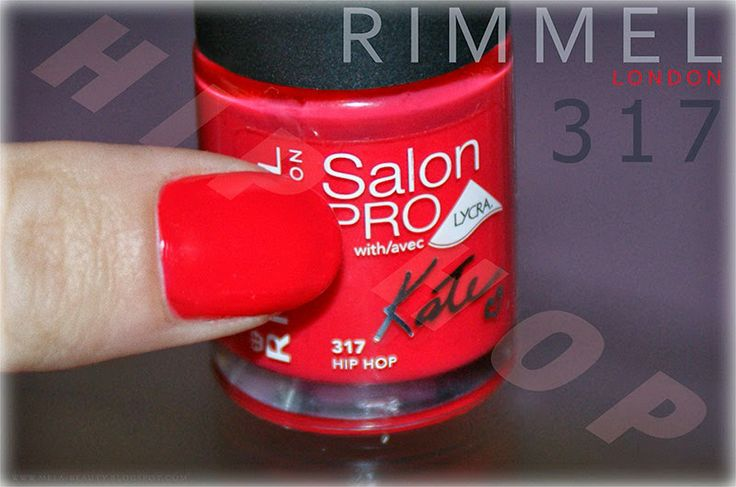 Mela Beauty: PROJEKT I - RIMMEL SALON PRO 317 HIP HOP
