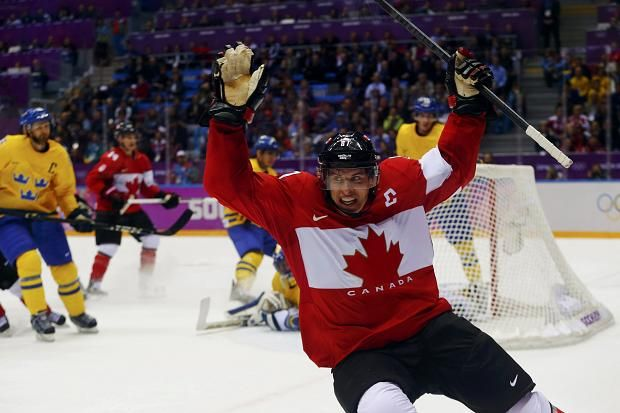 Men's ice hockey final: Sweden 0 Canada 3