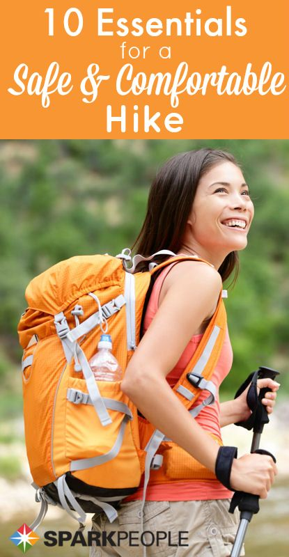 10 Things to Take On a Spring Hike   via @SparkPeople #hiking #spring #workout #fitness