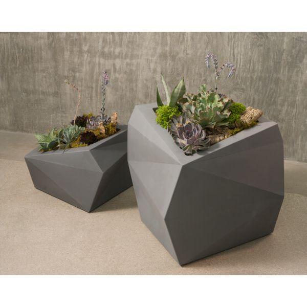 Best 25+ Black planters ideas on Pinterest   Large leaf plants ...