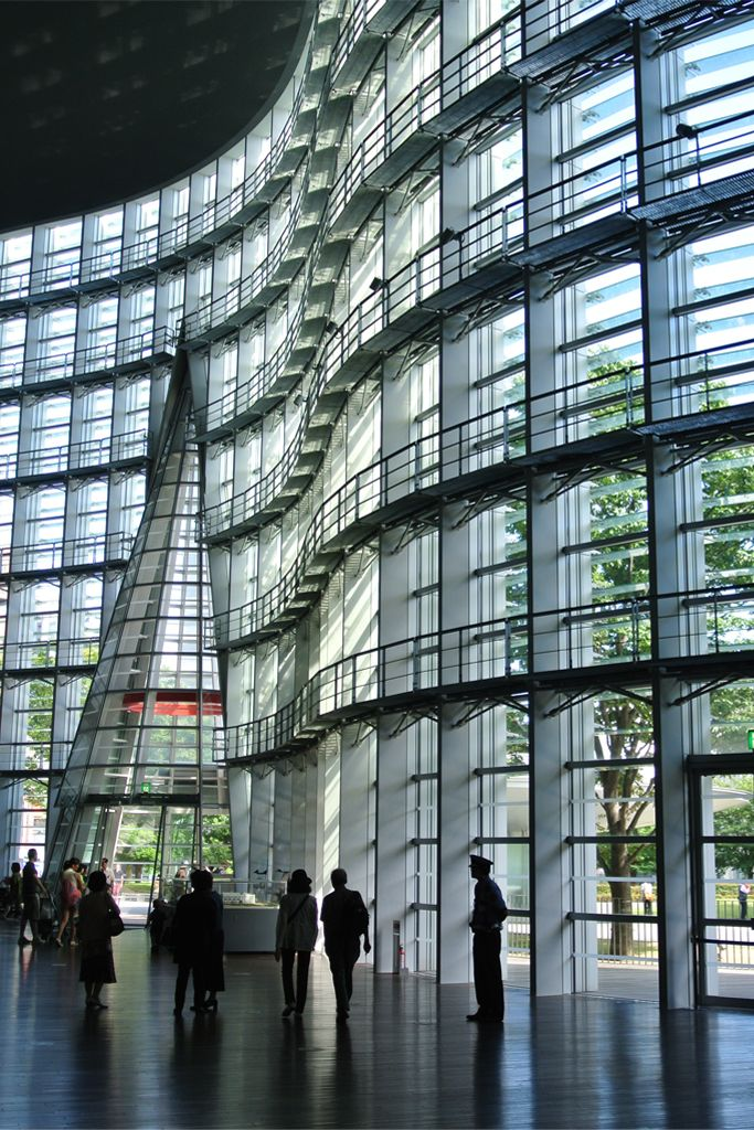 The National Art Center Tokyo Famous ArchitectureJapan ArchitectureFuturistic ArchitectureContemporary