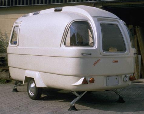 Suleica Vintage camper, Retro caravan