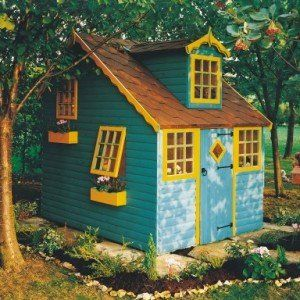 Shire Cottage Wooden Playhouse