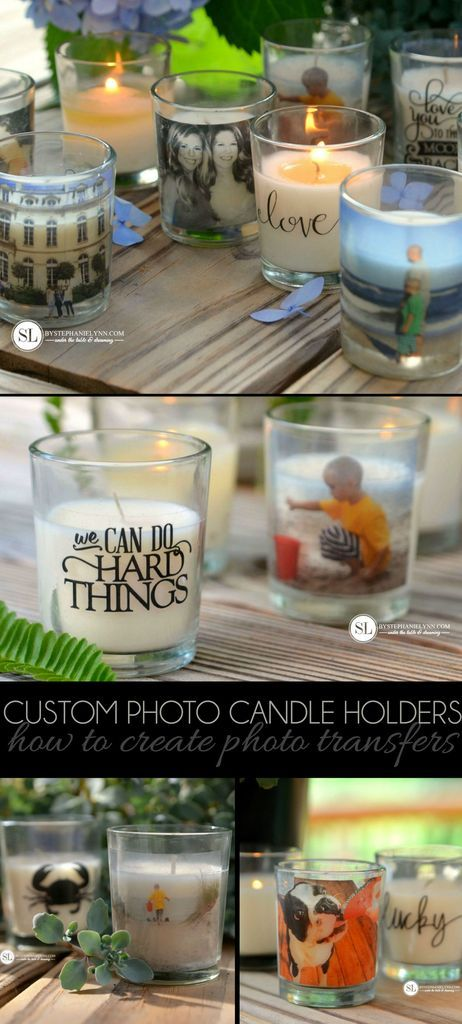 DIY Candle Jars Printing