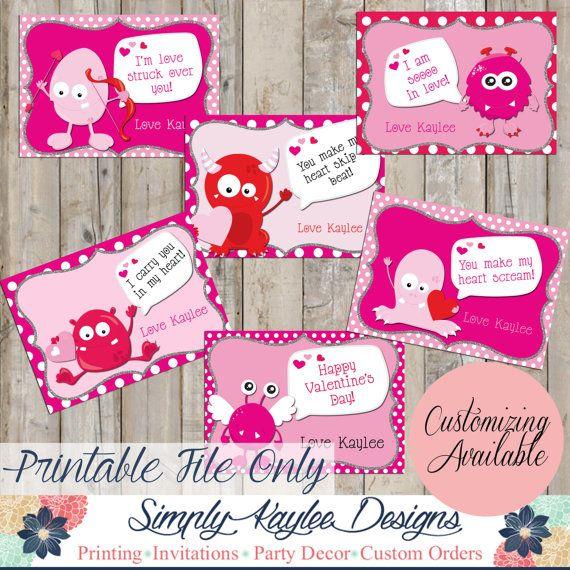 32 best Kids School Valentineu0027s Day Card Ideas images on Pinterest - valentines day cards