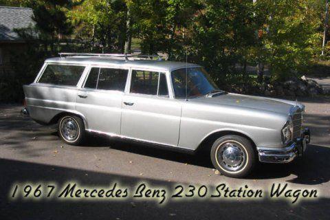 1967 mercedes benz 230 station wagon fintail for sale front mercedes benz pinterest cars. Black Bedroom Furniture Sets. Home Design Ideas