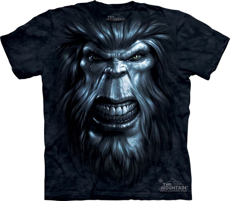 Big Face Bigfoot Gaze T-Shirt - 30% DISCOUNT ON ALL ITEMS - USE CODE: CYBER  #Cybermonday #cyber #discount