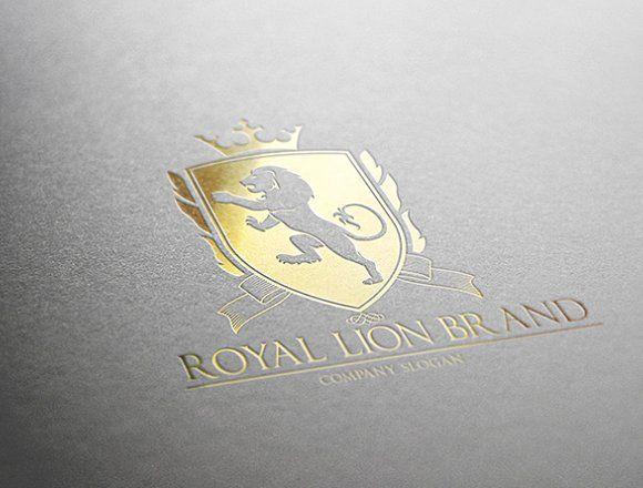 Royal Lion Brand by Super Pig Shop on @creativemarket