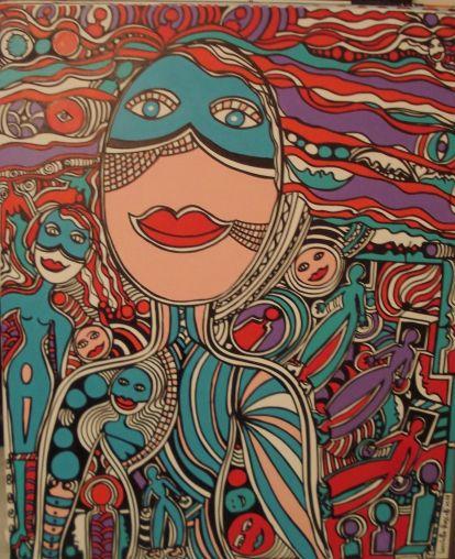 Silvana Lucchetta-Rossetti, Le bal masqué