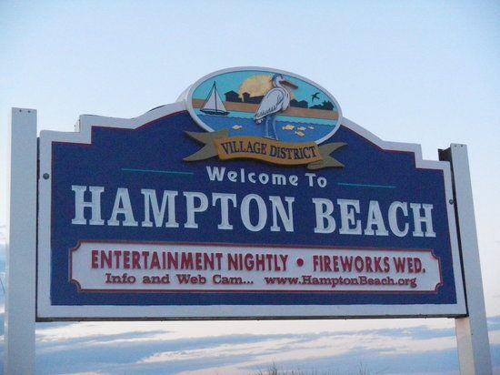 Hampton Beach NH Boardwalk
