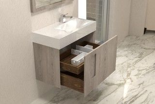 Nuvo By The Furniture Guild Contemporary Bathroom Vanities And Sink Consoles Atlanta By